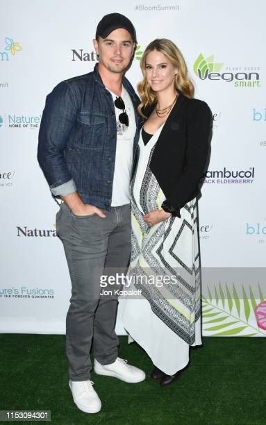 Darin Brooks and Kelly Kruger attend the 2nd Annual Bloom Summit at The Beverly Hilton Hotel on June 01 2019 in Beverly Hills California