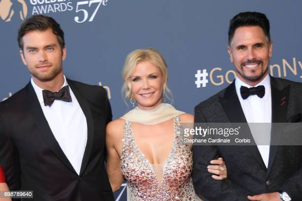 Darin Brooks Katherine Kelly Lang and Don Diamont attend the Closing Ceremony of the 57th Monte Carlo TV Festival on June 20 2017 in MonteCarlo Monaco