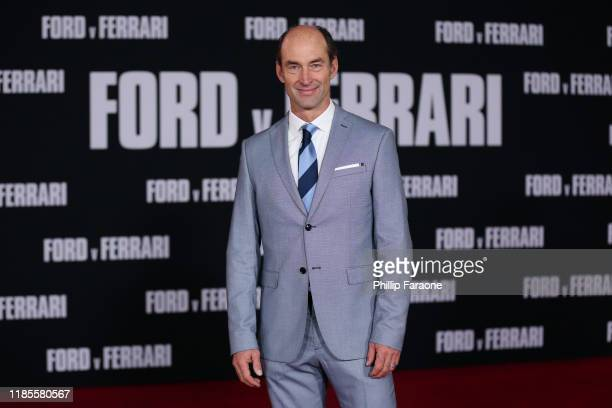 Darin Cooper attends the premiere of FOX's Ford V Ferrari at TCL Chinese Theatre on November 04 2019 in Hollywood California