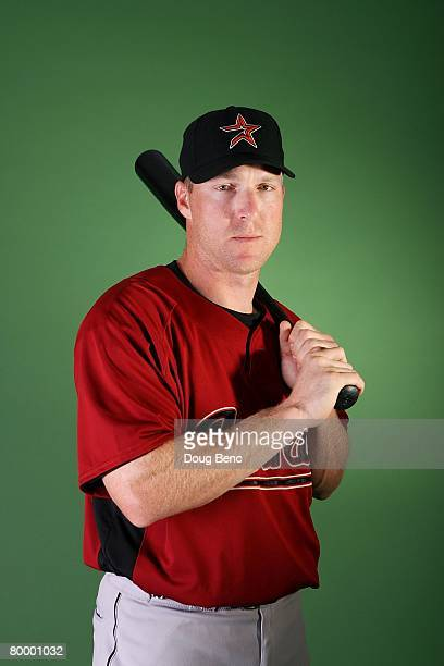 Darin Erstad of the Houston Astros poses during Spring Training Photo Day at Osceola County Stadium on February 25 2008 in Kissimmee Florida