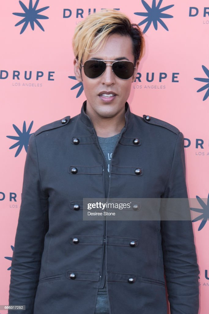Dario attends the Drupe Los Angeles Launch Party on April 8, 2017 in Beverly Hills, United States.