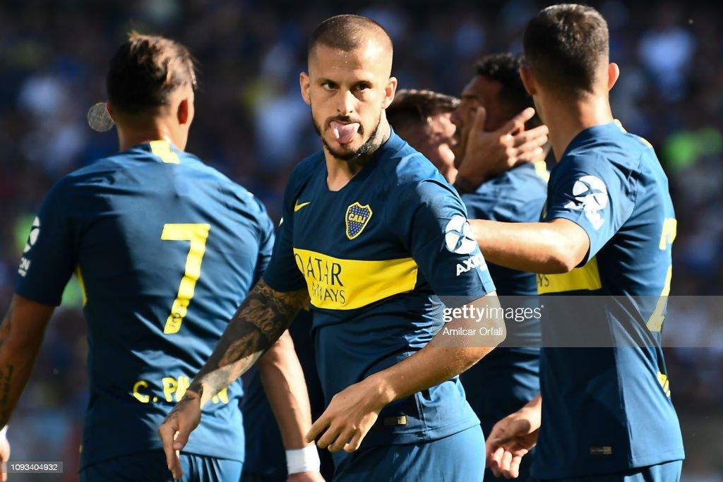 Boca Juniors v Godoy Cruz - Superliga 2018/19 : News Photo