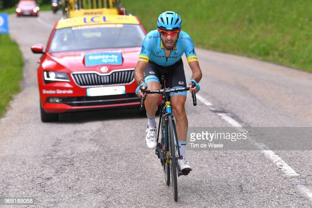 Dario Cataldo of Italy and Astana Pro Team / during the 70th Criterium du Dauphine 2018 Stage 4 a 181km stage from ChazeysurAin to LansenVercors...