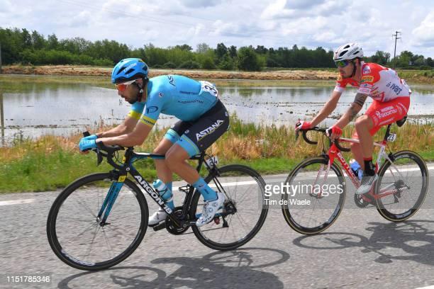 Dario Cataldo of Italy and Astana Pro Team / Mattia Cattaneo of Italy and Team Androni Giocattoli Sidermec / during the 102nd Giro d'Italia 2019...