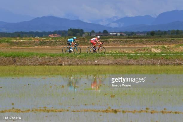 Dario Cataldo of Italy and Astana Pro Team / Mattia Cattaneo of Italy and Team Androni Giocattoli Sidermec / Landscape / during the 102nd Giro...