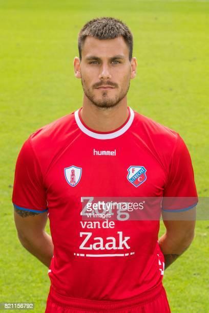Dario Dumic during the team presentation of FC Utrecht on July 22 2017 at Sportcomplex Zoudenbalch in Utrecht The Netherlands