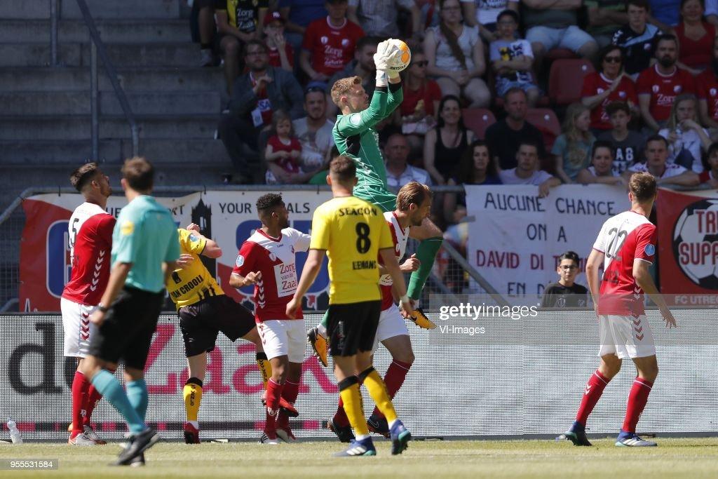 Dutch Eredivisie'FC Utrecht v VVV Venlo' : News Photo