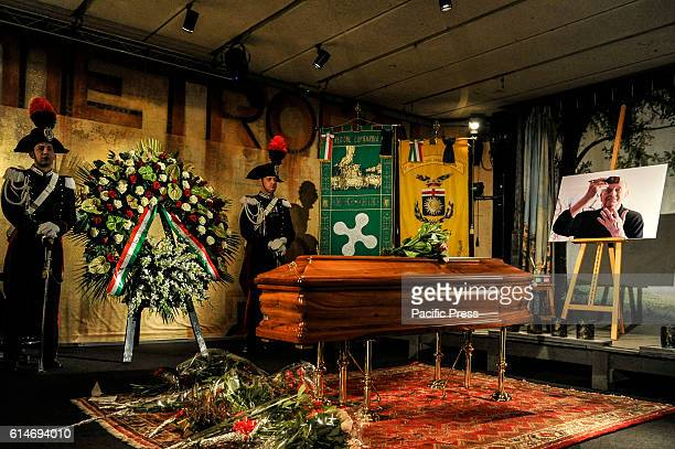 Dario Fo burial chamber at Piccolo Theater in Milan Dario Fo the Italian playwright director and performer whose satirical work earned him both...