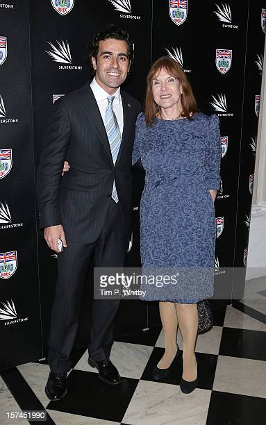 Dario Franchitti and Lady Helen Stewart attend the British Racing Drivers Club awards at Grand Connaught Rooms on December 3 2012 in London England