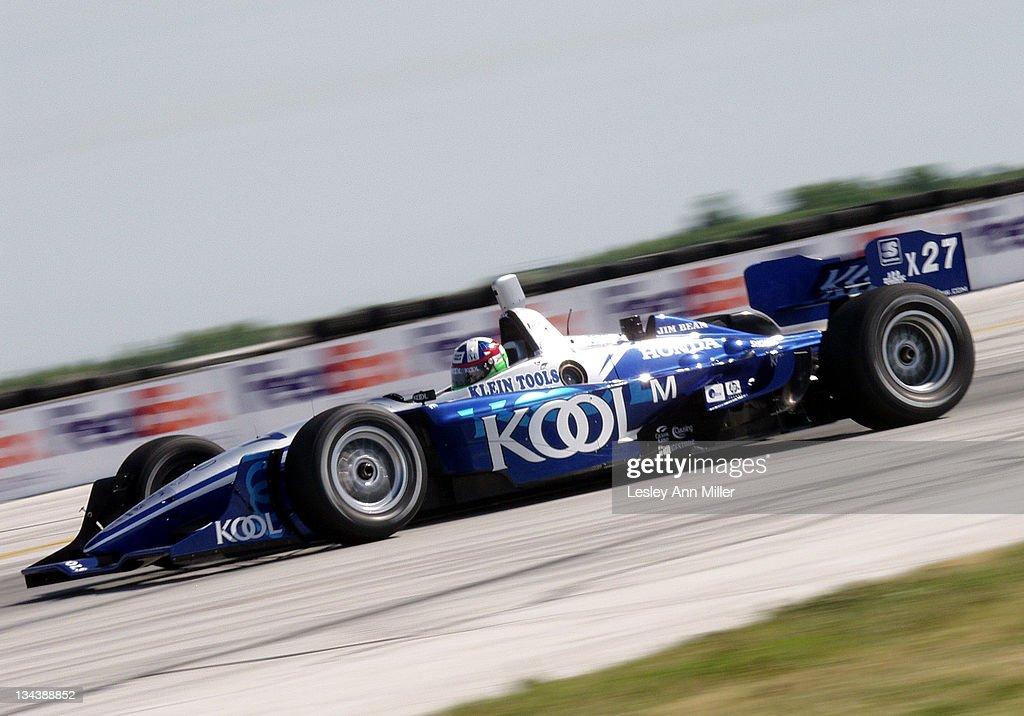 CART Marconi Grand Prix of Cleveland Qualifying : News Photo