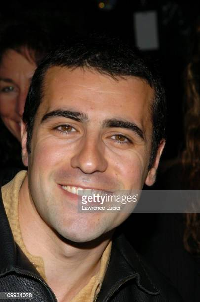 Dario Franchitti during Olympus Fashion Week Fall 2004 Tuleh Front Row at Bryant Park in New York City New York United States