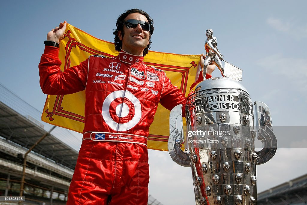 94th Indianapolis 500 Trophy Presentation : News Photo