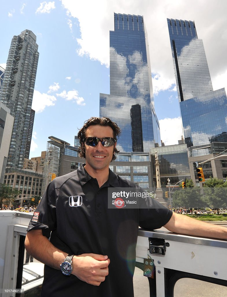 2010 Indianapolis 500 Winner Dario Franchitti's Victory Lap In NYC