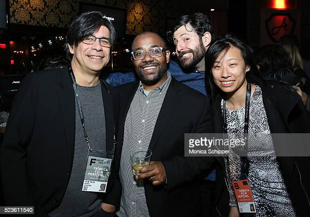 Dario Laverde Loren HammondsTyler Hurd and Maureen Fan��attend the Tribeca Film Festival Wrap Party on April 23 2016 in New York City