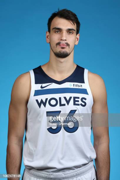 Dario Saric of the Minnesota Timberwolves poses for a head shot on November 15 2018 at Target Center in Minneapolis Minnesota NOTE TO USER User...