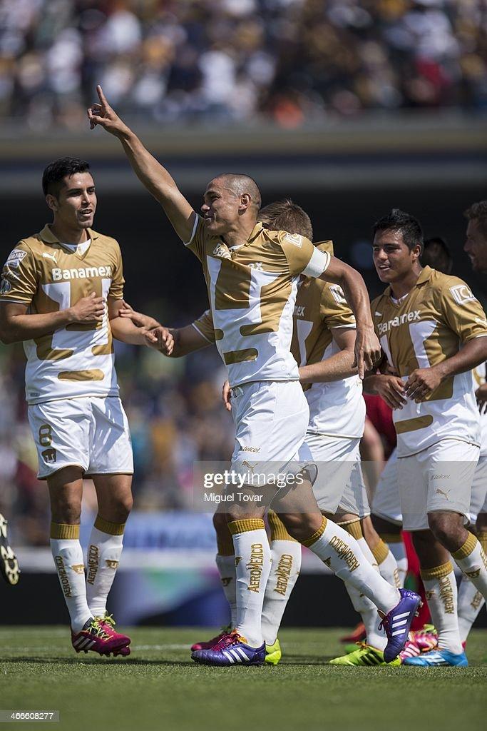 Pumas UNAM v Tijuana- Clausura 2014 Liga MX