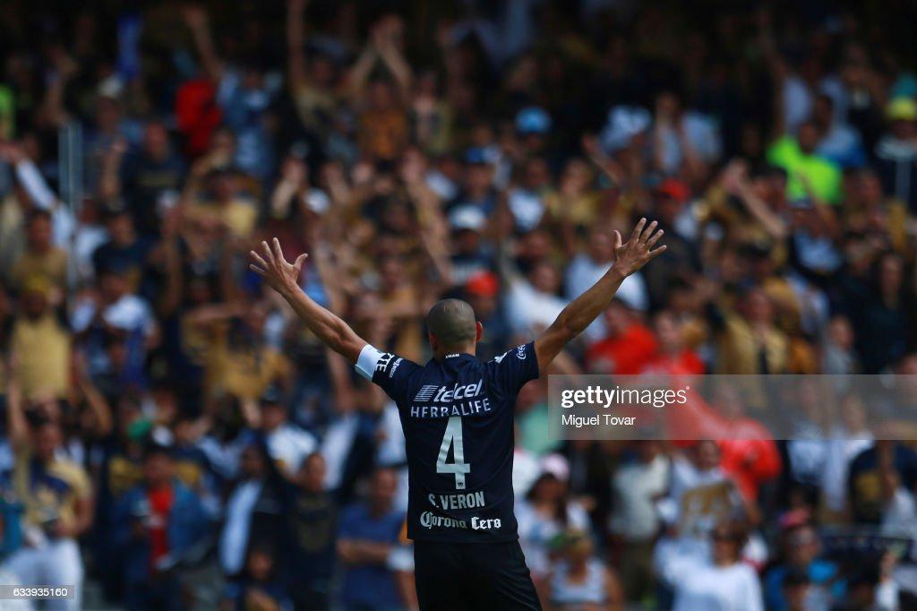 Pumas UNAM v Pachuca - Torneo Clausura 2017 Liga MX