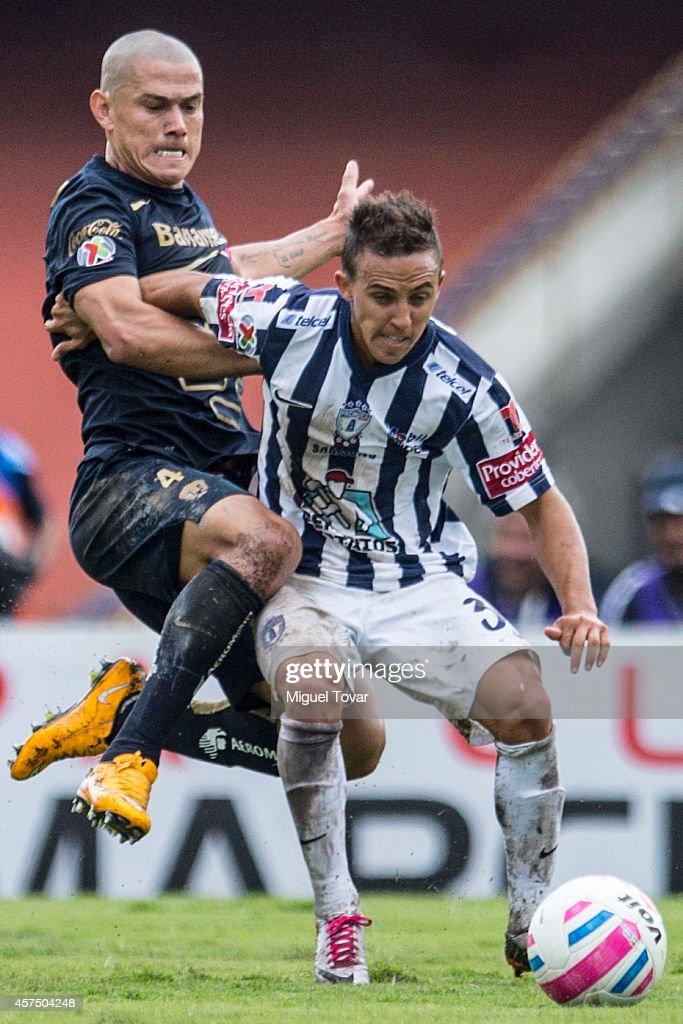 Pumas UNAM v Pachuca - Apertura 2014 Liga MX : News Photo