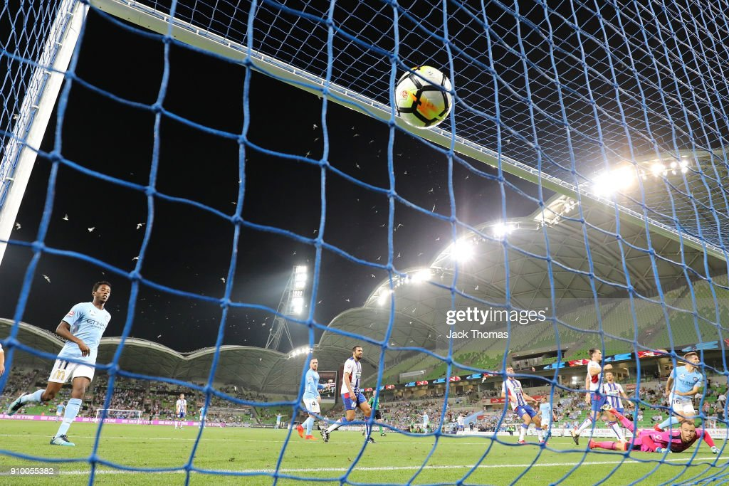 A-League Rd 18 - Melbourne v Newcastle