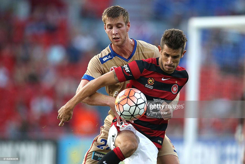 A-League Rd 23 - Newcastle v Western Sydney