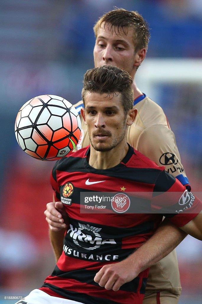 A-League Rd 23 - Newcastle v Western Sydney