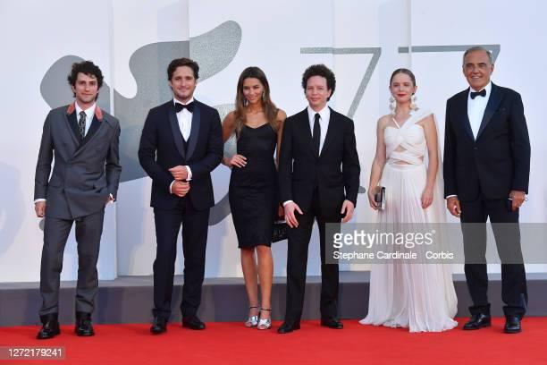 Dario Yazbek Bernal, Diego Boneta, Juana Arias, Director Michel Franco, Naian González Norvind and Director of 77 Mostra Internazionale d'Arte...