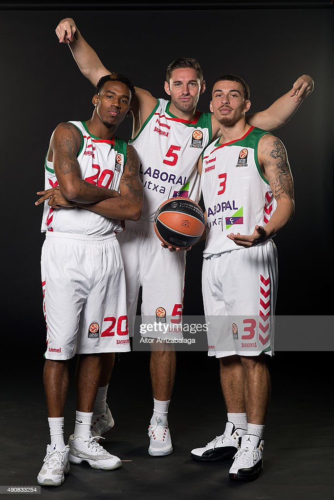 Laboral Kutxa Vitoria Gasteiz 2015/2016 Turkish Airlines Euroleague Basketball Media Day