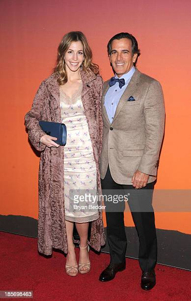 Darius and Jill Bikoff arrive for the Whitney Museum of American Art Gala Studio Party 2013 Supported By Louis Vuitton at Skylight at Moynihan...