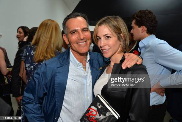 Darius Bikoff and Jill Bikoff attend Richard Kirshenbaum's Book Party, ROUGE! at Pace Gallery on June 5, 2019 in New York City.