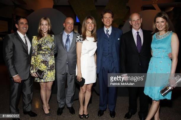 Darius Bikoff, Jill Bikoff, Jeff Zucker, Caryn Zucker, Thomas Kaplan, Jonathan Tisch and Lizzie Tisch attend 92nd Street Y Annual Spring Gala...