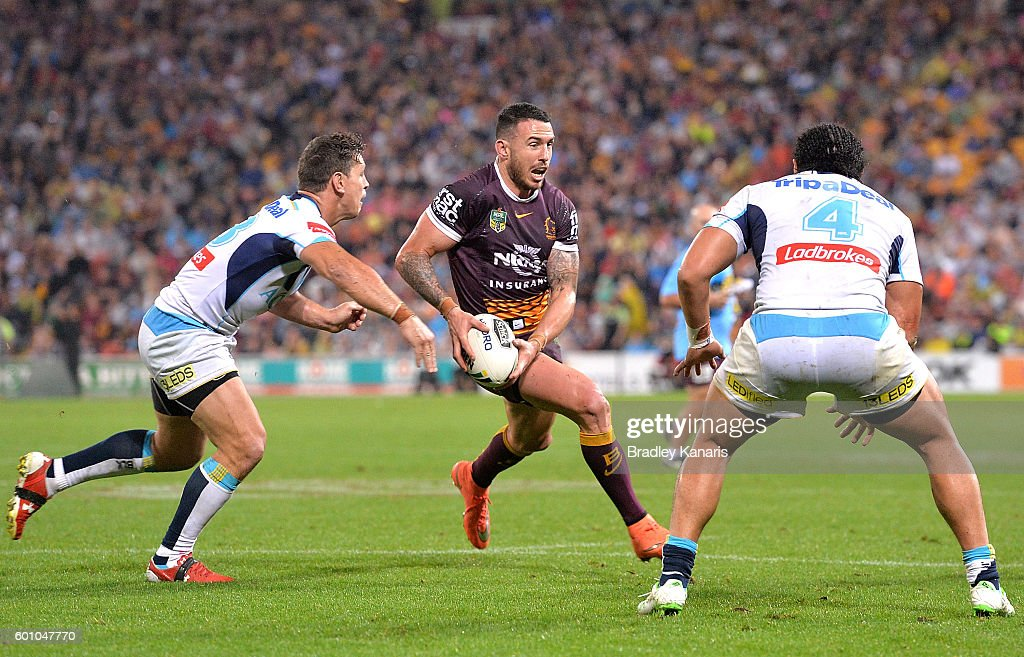 NRL Elimination Final - Brisbane v Gold Coast : News Photo