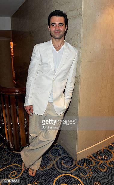 Darius Campbell attends the 35th Nordoff Robbins 02 Silver Clef Awards at London Hilton on July 2 2010 in London England