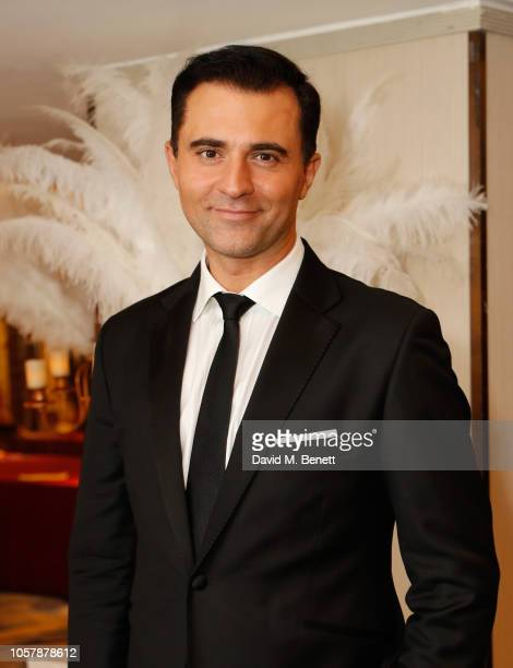 Darius Campbell attends The Float Like A Butterfly Ball 2018 the annual black tie boxing gala in aid of Caudwell Children at The Grosvenor House...