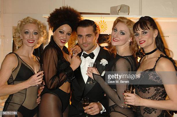 Darius Danesh and guests attend the backstage party following Darius Danesh's first night playing the role of lawyer Billy Flynn in Chicago The...