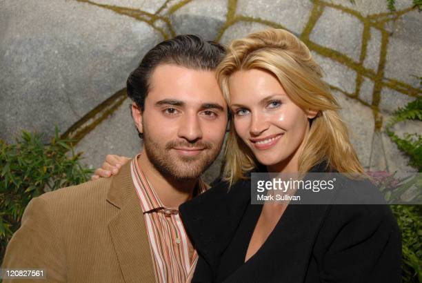 Darius Danesh and Natasha Henstridge at the Diamond Information Center Diamond Aquifer Mystical Retreat *EXCLUSIVE*