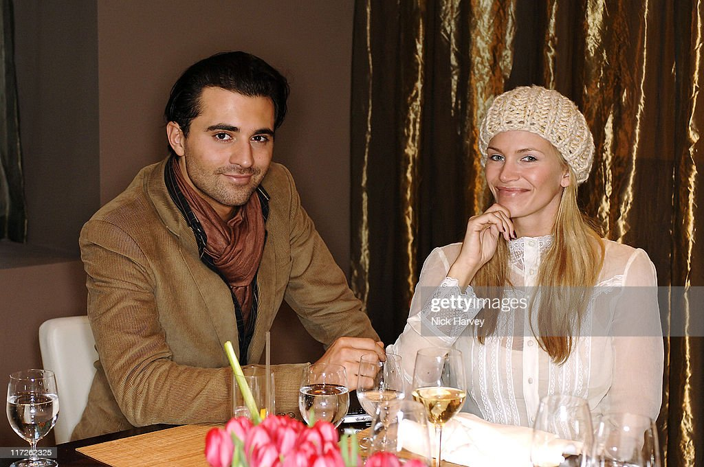 Darius Danesh and Natasha Henstridge during Loewe Lunch at The Hospital at The Hospital in London, Great Britain.
