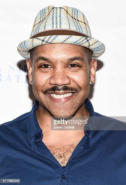 Darius de Haas attends the 2016 Broadway Supports The NMA at Sardi's on March 24 2016 in New York City