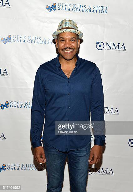 Darius de Haas attends the preshow reception for annual 'Give Kids a Shot Gala Celebration' Broadway's support for The National Meningitis...