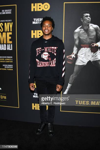 Darius Garland at the premiere of HBO's What's My Name Muhammad Ali at Regal Cinemas LA LIVE Stadium 14 on May 08 2019 in Los Angeles California