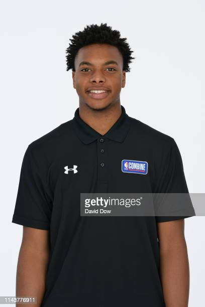 Darius Garland poses for a head shot at the 2019 NBA Draft Combine on May 14 2019 at the Chicago Hilton in Chicago Illinois NOTE TO USER User...