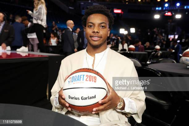 Darius Garland poses for a photo before the 2019 NBA Draft on June 20 2019 at the Barclays Center in Brooklyn New York NOTE TO USER User expressly...