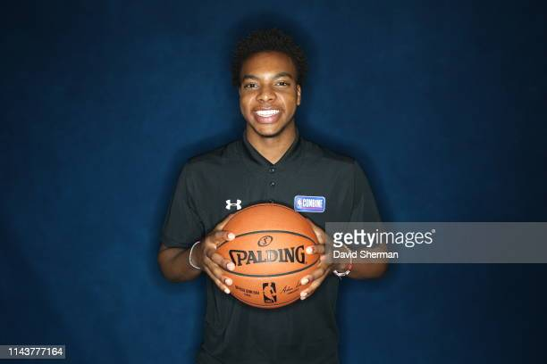 Darius Garland poses for a portrait at the 2019 NBA Draft Combine on May 14 2019 at the Chicago Hilton in Chicago Illinois NOTE TO USER User...