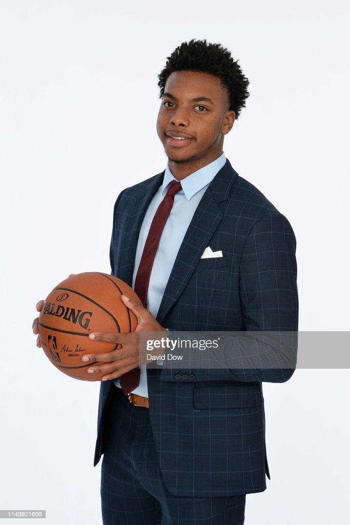 2019 NBA Draft Lottery Portraits : News Photo