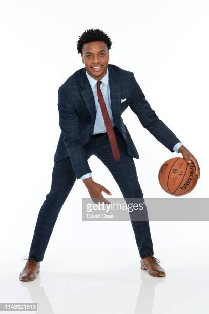 Darius Garland poses for a portrait at the 2019 NBA Draft Lottery on May 14 2019 at the Chicago Hilton in Chicago Illinois NOTE TO USER User...