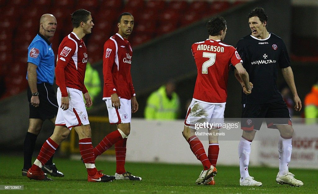 Nottingham Forest v Sheffield United