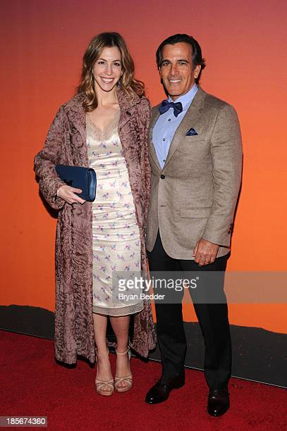 Darius Jill Bikoff arrive for the Whitney Museum of American Art Gala Studio Party 2013 Supported By Louis Vuitton at Skylight at Moynihan Station on...