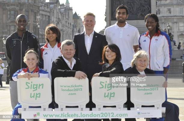 Darius Knight Zoe Smith Chief Executive LOCOG Paul DeightonRajiv Ouseph Olympic gold medallist Christine Ohuruogo Paralympian double gold medallist...