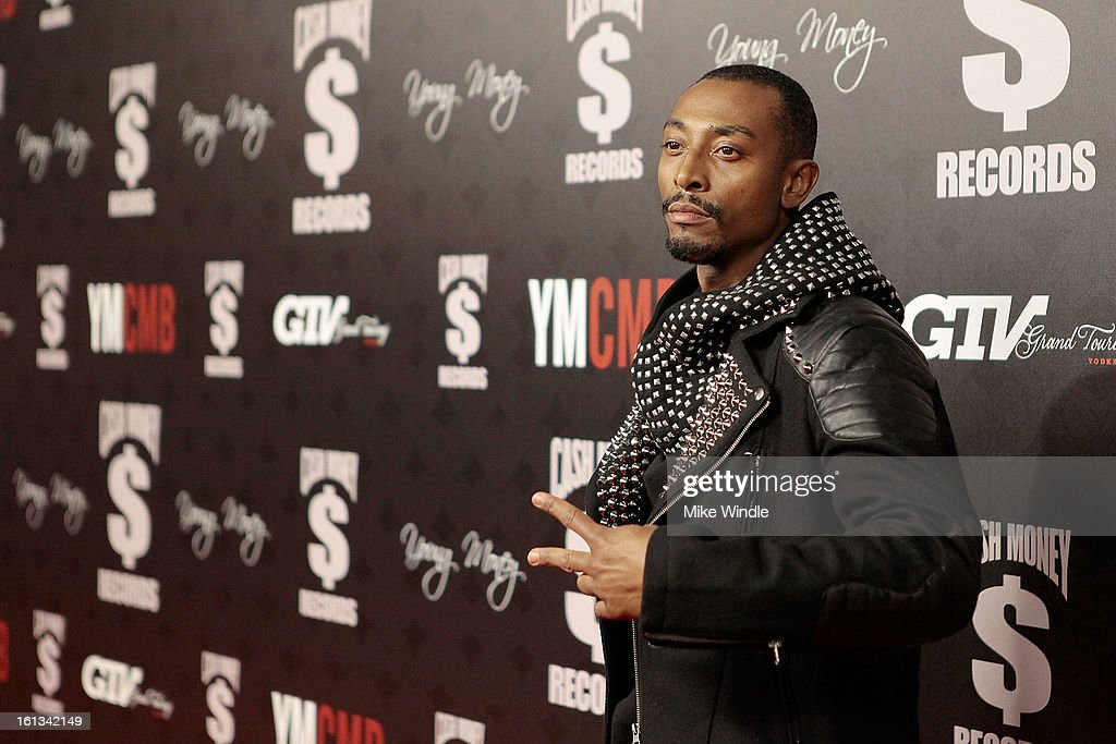 Darius Love arrives at the Cash Money Records 4th annual pre-GRAMMY Awards party on February 9, 2013 in West Hollywood, California.