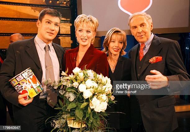 """Darius Michalczewski, Ulla Kock am Brink,;Doris Schröder-Köpf, Harald Juhnke, """"Ein;Herz für Kinder"""", Benefiz-Gala BILD und;ARD, Deutsches Theater,..."""