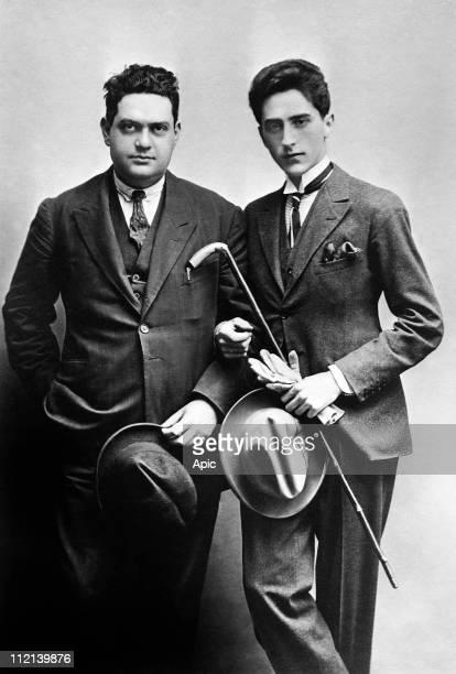 Darius Milhaud and Jean Cocteau circa 1920